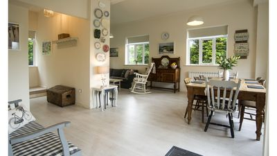 Photo for Child and pet friendly, 20 acres of Dartmoor with swimming pool near Tavistock