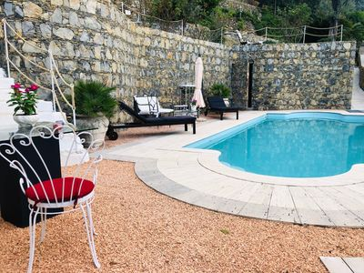Photo for NEW !! House with private pool, seaview and garden