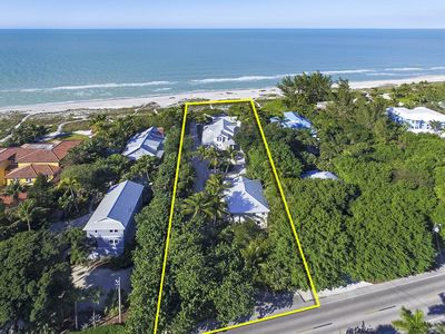 Photo for Grey Heron Beachfront 3 Bedroom / 3.5 Bath House with Optional Guest House