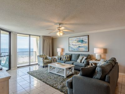 Photo for Completely renovated! Spacious, gulf front 3 Bedroom Condo in Orange Beach!