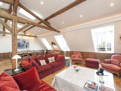 Photo for Luxury Penthouse Saint Germain - A/C Lift - View Eiffel Tower - Cleaning once/wk