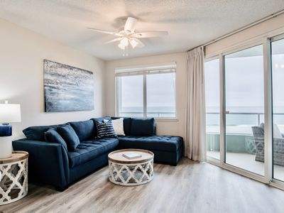 Photo for *New Rental* Pet Friendly! Remodeled, clean, outdoor living area, beach front!