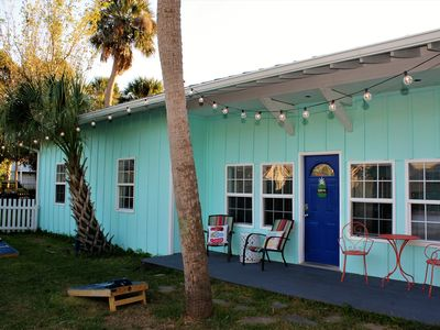 Photo for 3 Houses Together with Central Courtyard on Folly Beach!