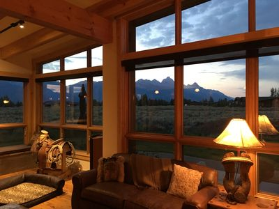 Photo for Beautiful Home with great Teton views