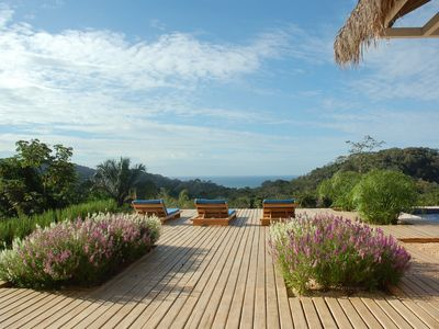 Photo for Ocean View House located in a Private Jungle Estate, Santa Teresa