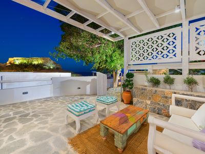 """Photo for """"Lindos Above"""" chill out bungalow"""