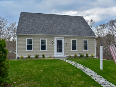 Photo for Contemporary three bedroom sleeping 8 located in Yarmouth Port