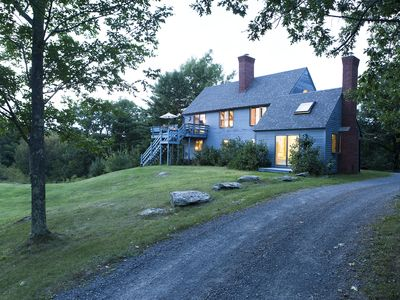 Photo for Top Of The World W/ Breathtaking Views. Quiet & Yet Close To Hudson & Berkshires