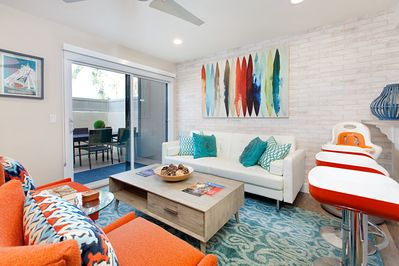 Living area - Welcome to Anaheim! This bright, contemporary condo is professionally managed by TurnKey Vacation Rentals.