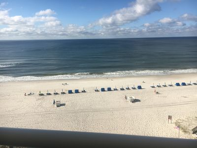 Photo for A++  Tradewinds  Direct  Gulf Front Condo!  2BR/2BA, Free Wifi! Great Rates!!