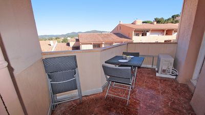 Photo for Apartment T2 - 4 people - Air conditioning - WiFi - City center - Beach walk - Sainte-Maxime