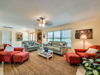 Photo for HOT TUB  Remodeled Coastal  Home w/Gulf Access, 43 Glowing Reviews!