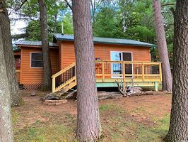 Photo for 1BR Cabin Vacation Rental in Trego, Wisconsin