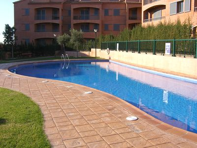 Photo for Apartment 200m from the sea with pool, ideal for relaxation and sports lovers