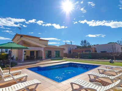 Photo for Club Villamar - A comfortable holiday home with private pool,nice terrace, children play ground c...