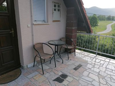 Photo for Two bedroom apartment with terrace Smoljanac, Plitvice (A-14979-a)