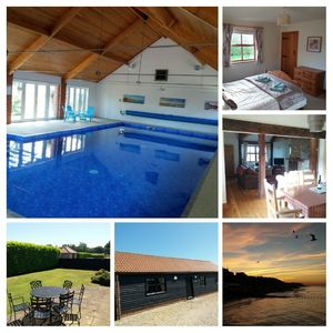 Photo for Spacious barn near Cromer with enclosed garden. Shared indoor pool & play area.