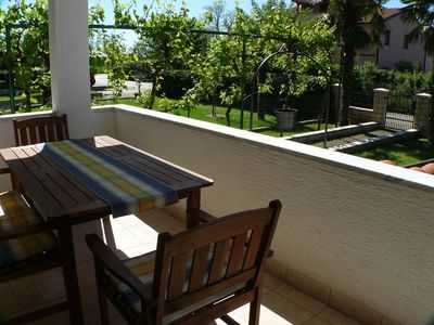 Photo for Apartment in the center of Umag with Air conditioning, Parking, Terrace, Balcony (576316)