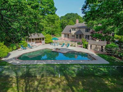 Photo for OSTERVILLE ESTATE *   *PERFECT ENTERTAINING HOUSE *   pool, 3 acre yard,