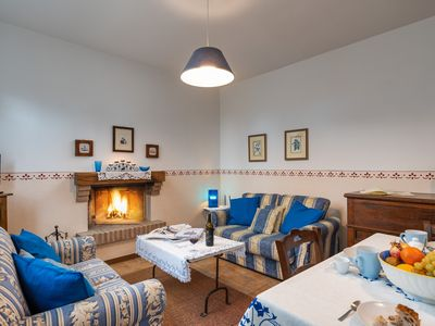 Photo for PASSERO:Peaceful farmhouse close to Tuscany 's best treasures, 1 mile from shops
