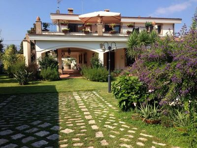 Photo for Villa with private pool near the beaches of Palmi