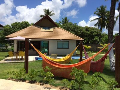 Photo for Duplex bungalow with 137 m2, 3 bedrooms, 2 suites, all furnished.