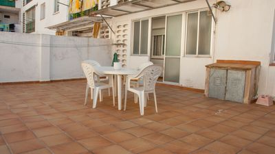 Photo for Large family apartment with two terraces, in a very central area of Sant Feliu de Guíxols.