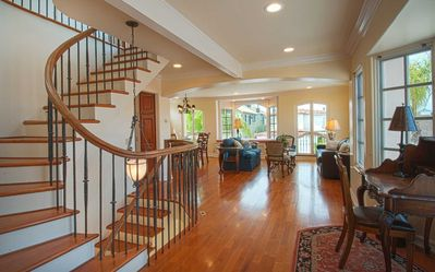 Photo for Beautiful, bright and charming 3-story townhouse on an amazing street in Newport!