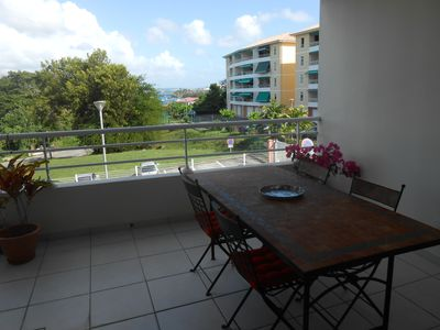 Photo for nice view AND GREAT BENEFITS FOR THIS T2 50m beach