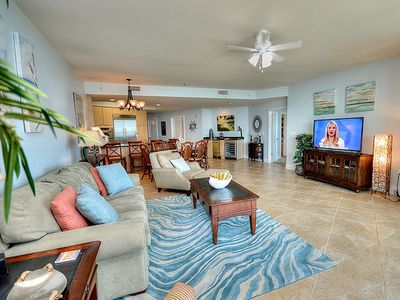 "Photo for NEW DECOR! Great Views of the Gulf - 55"" TV - 1PM Check in Option"