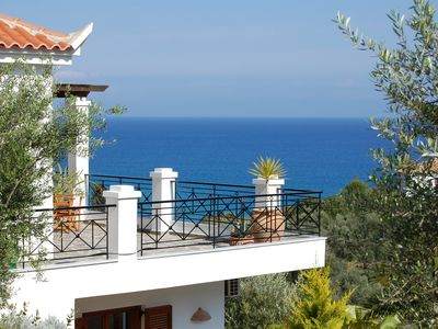 Photo for Dream house by the sea - 200 meters from the beach - private access