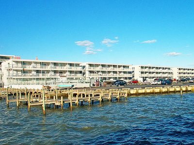 Photo for Bradley On The Bay 125F-Baywater 37th St, Pool, W/D, AC