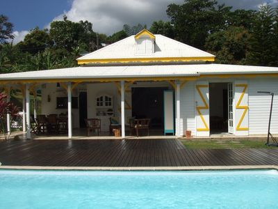 Photo for Beautiful Creole villa in Petit-Bourg, the center of Guadeloupe.