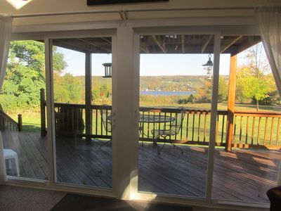 Photo for Chalet overlooking Keuka Lake in the heart of Wine Country