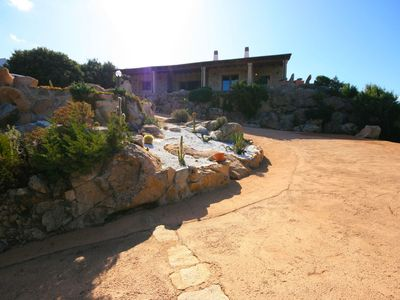 Photo for Stunning private villa for 6 guests with private pool, A/C, TV and parking