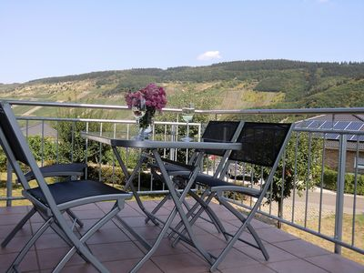 Photo for Fantastic apartment with Moselle view