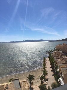 Photo for Panoramic terrace with 220 ° view on the Mar Menor, and in the distance Cabo de Palos
