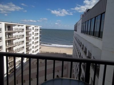 Photo for LINENS & DAILY ACTIVITIES INCLUDED!  OCEANFRONT/BOARDWALK BUILDING W/ROOFTOP POOL . Decorated for comfort at the beach with updated kitchen and lots of space for the whole family