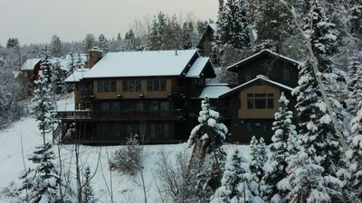 Coveted large home, ski-in ski-out location