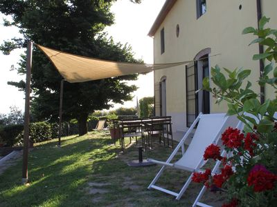 Photo for Agriturismo Colle da Vinci, apartment between olive groves and vineyards