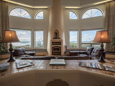 Photo for Best Beach Front House in Bandon, Ocean view Spa, Golfing, Fishing, Fireplace!