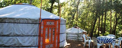 Photo for Camping des Bastides **** - Yurt for 4 people without toilets
