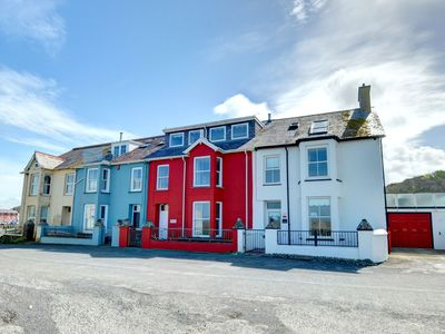Photo for Stylish coastal house that is literally on the beach in Aberaeron in West Wales. With great sea view
