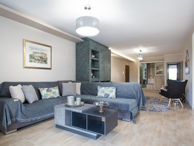 Photo for Promenade Apartment bright and elegant , located in the heart of Athens Riviera.