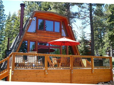 Photo for Charming, Mountain Cabin for All Seasons in Dollar Point