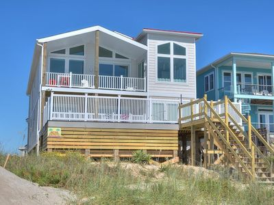Photo for Brand New Construction-10 BR/9 BA Oceanfront Home w/POOL & Elevator-Sleeps 20