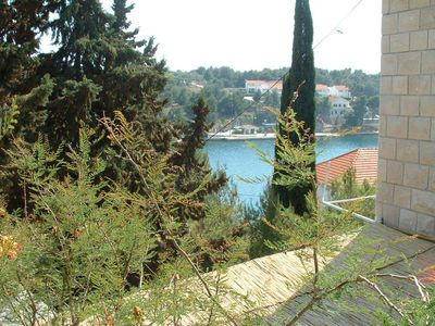 Photo for Apartment Mari  A2 gornji (2+2)  - Milna (Brac), Island Brac, Croatia