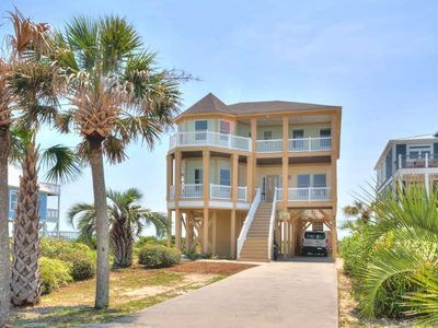 Photo for Breathtaking 7 BR/6 BA Oceanfront Home w/Private 38 x 15 Private Pool-Sleeps 16