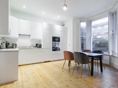 Photo for Stylish 2 bed flat with garden in East London