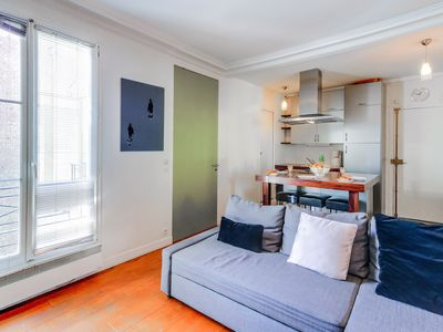 Photo for LUMINOUS AND COZY APARTMENT IN THE HEART OF THE MARAIS - NEAR BEAUBOURG
